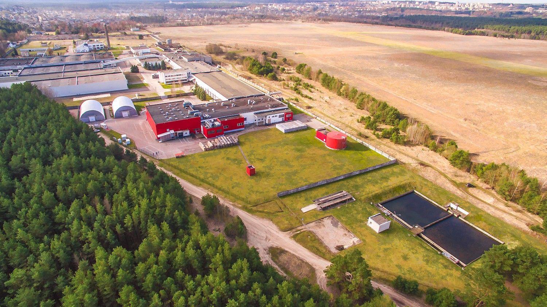 Parduodamas neeilinis gamybinis kompleksas Alytuje