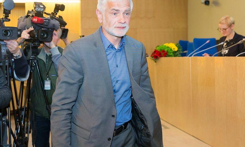 Bronius Markauskas, žemės ūkio ministras. Juditos Grigelytės (VŽ) nuotr.