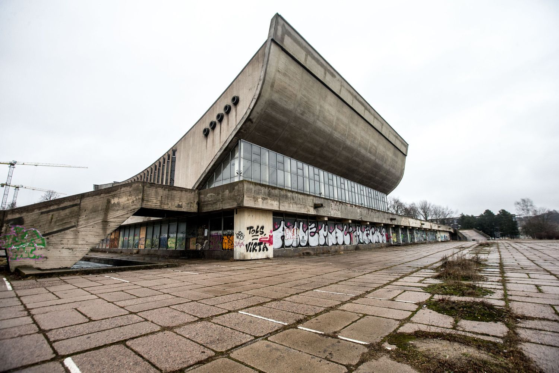 Vilniaus Sporto rūmų rekonstrukcijos pabaiga atidėta porai metų