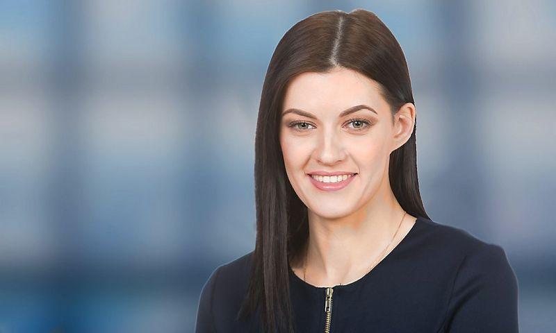 """Stela Andriuškaitė, advokatų profesinės bendrijos ,,iLAW"""" teisininkė."""