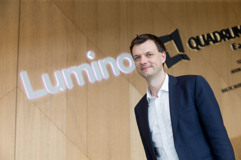 """""""Luminor"""" vadovas: jau šiandien smarkiai skiriamės nuo kitų bankų"""