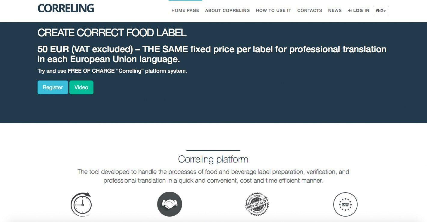 """""""Eurokam"""" pristato etikečių vertimo e.platformą"""