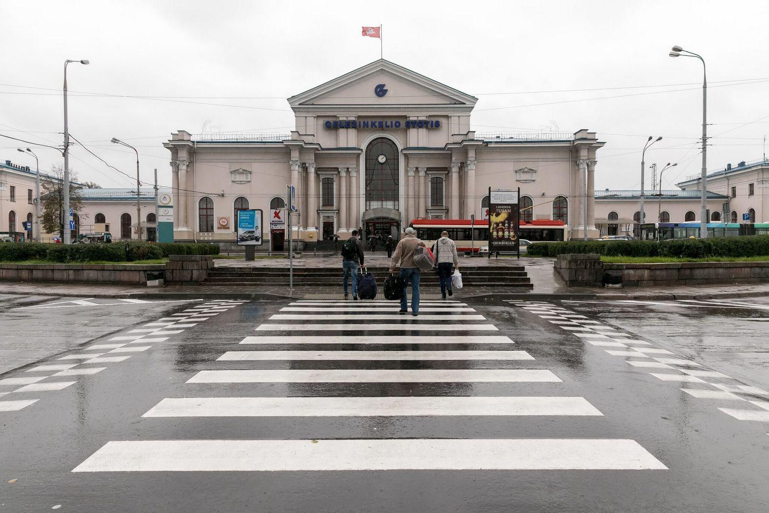 Atnaujintas Vilniaus stoties žiedas