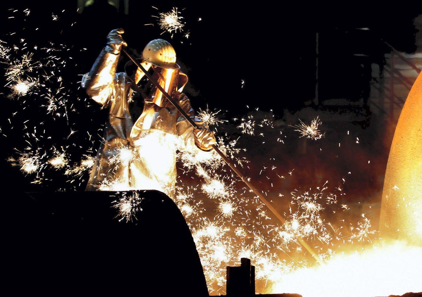 Vokietijos pramonė vasarą užbaigė sparčiausiu augimu per šešerius metus