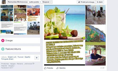 Turizmo departamentas pakartotinai įspėjo dėl nepatikimo kelionių organizatoriaus