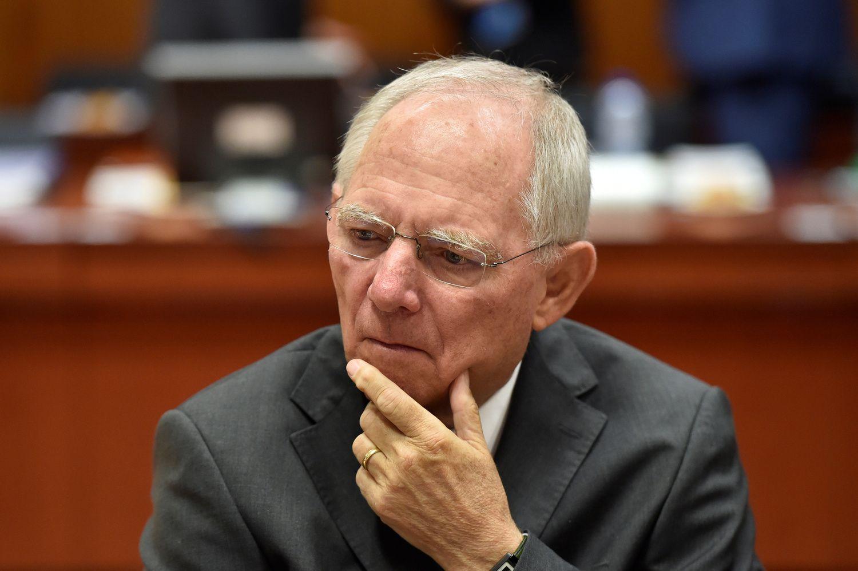 Schaeuble: iškilo naujos pasaulinės finansų krizės pavojus