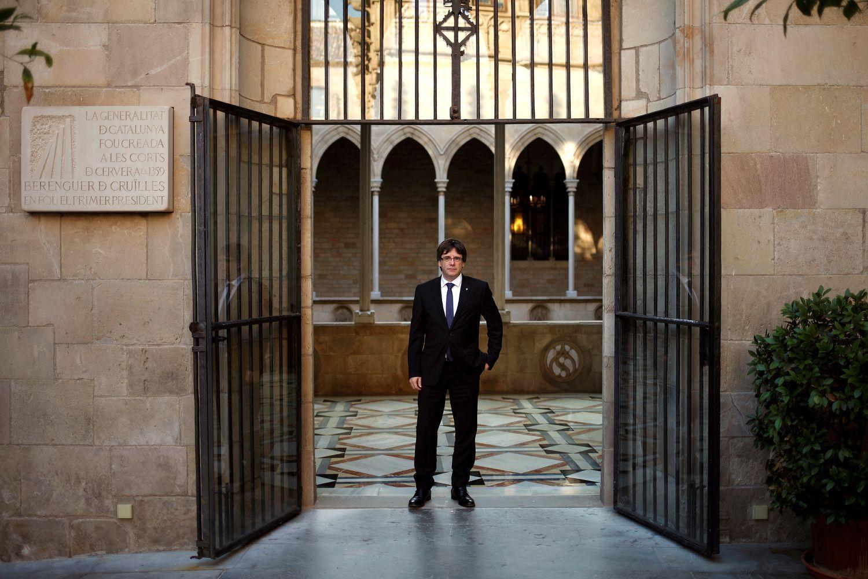 Katalonijos lyderisatideda nepriklausomybės paskelbimą