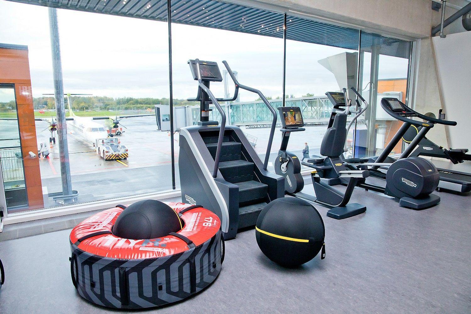 Talino oro uoste atidarytas nemokamas sporto klubas keleiviams