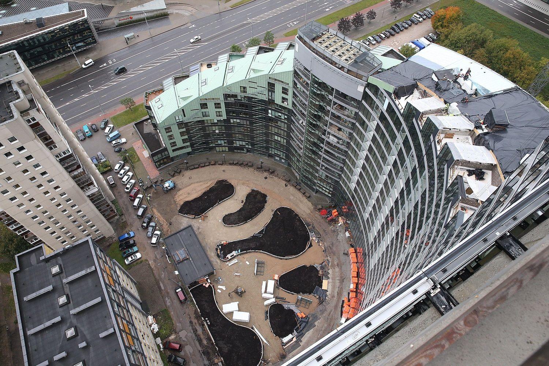"""Apleistas daugiabutis """"Arfa"""" tapo #Tower – investicijos sieks apie 40 mln. Eur"""
