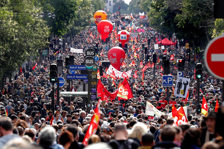 Prancūzijoje – neeilinio masto streikas