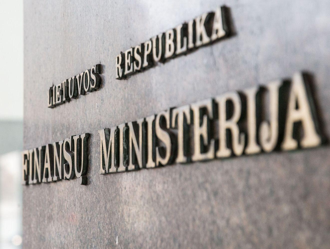 FM atsiėmė pasiūlymą dėl akcijų lengvatos apribojimo