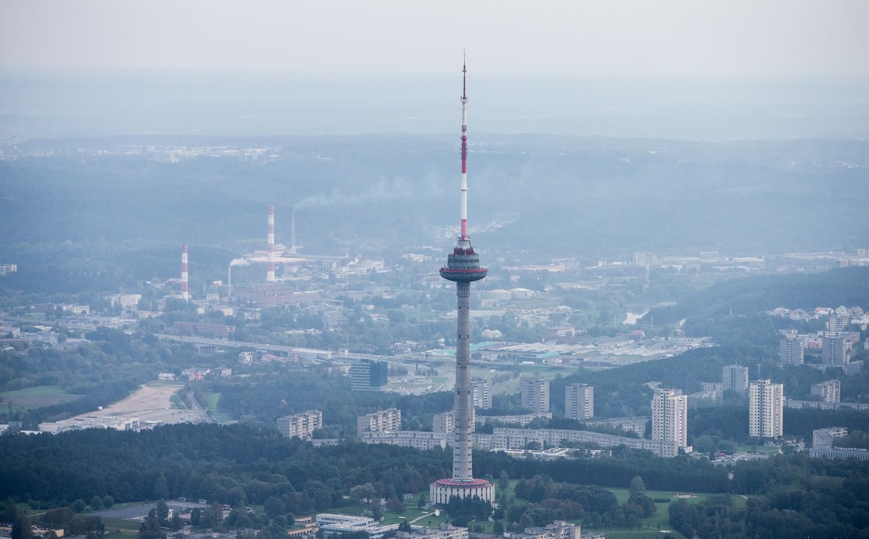 Evakuojamas Vilniaus TV bokštas