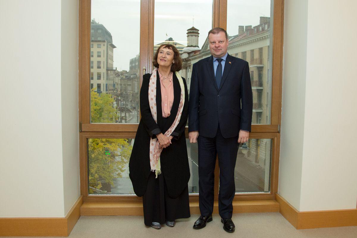 """Skvernelis pakvietė """"Google"""" kartu diegti mokymų programas Lietuvoje"""