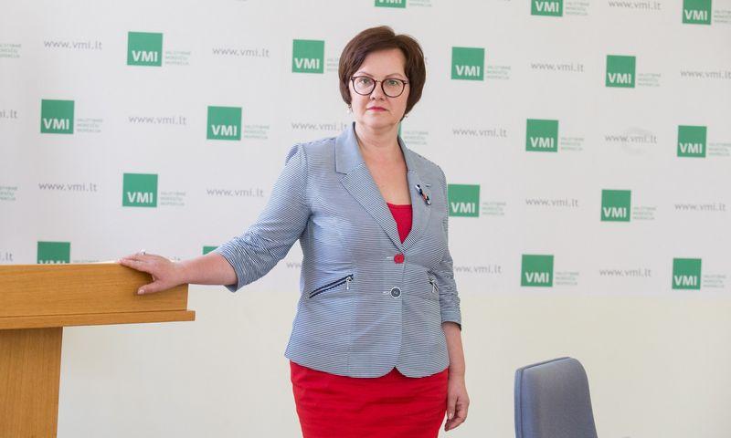 Edita Janušienė, VMI vadovė. Juditos Grigelytės (VŽ) nuotr.