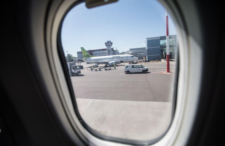 """""""airBaltic"""" atnaujina skrydžius """"Bombardier CS300"""""""