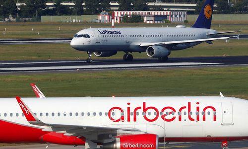 """""""Lufthansa"""" sutarė dėl """"Air Berlin"""" turto įsigijimo"""