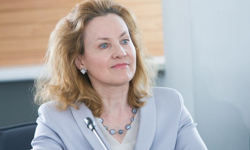 Alma Vaitkunskienė, buvusi Vilniaus miesto savivaldybės administracijos direktorė.  Juditos Grigelytės (VŽ) nuotr.
