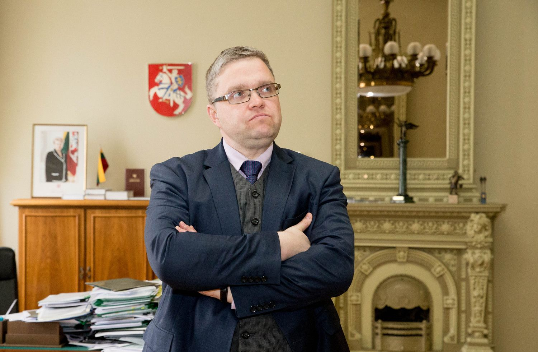 """Vasiliauskas paragino TVF tobulinti """"fintech"""" priežiūrą"""