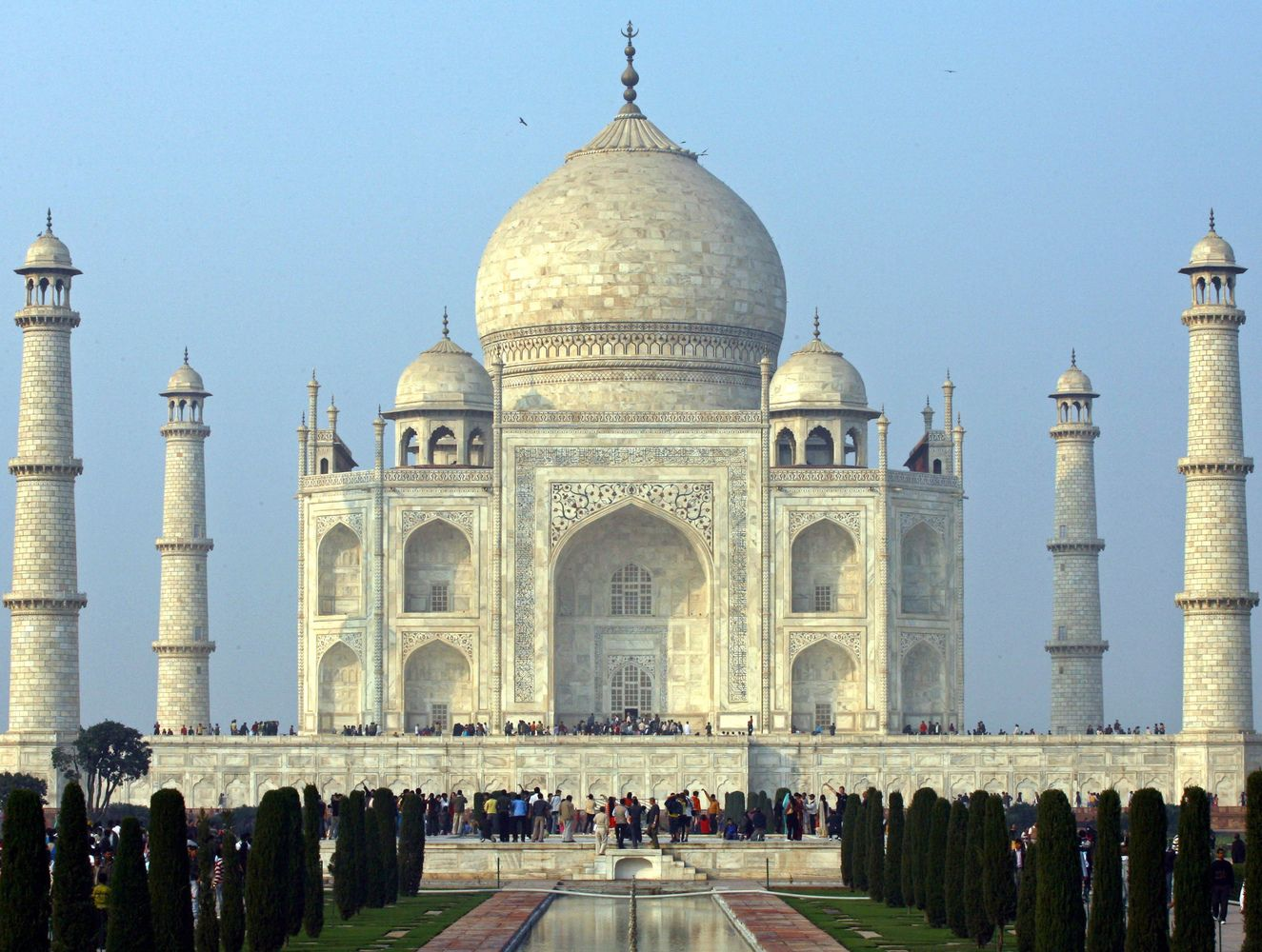 Tadžmahalas neįtrauktas į turistams Indijoje skirtą bukletą