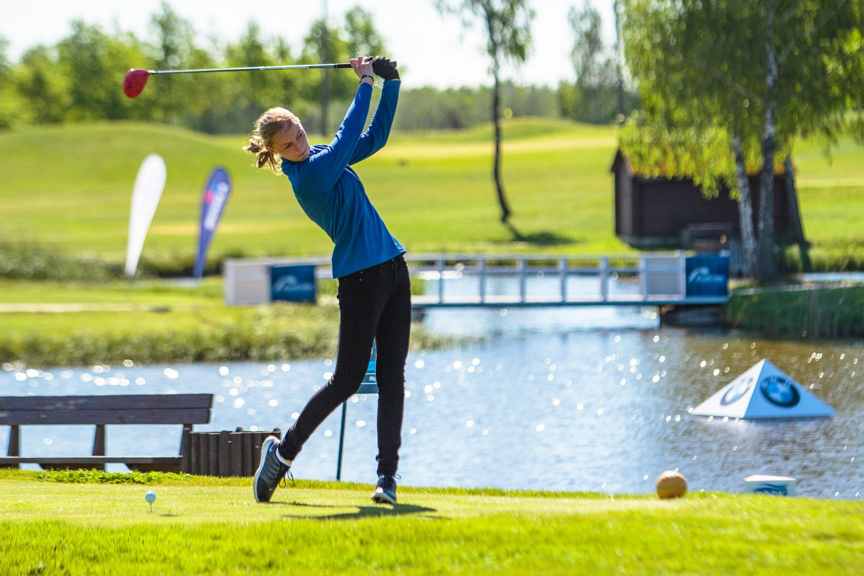 Jaunosios Lietuvos golfo žvaigždės kelias: 8 kilometrai ištvermės