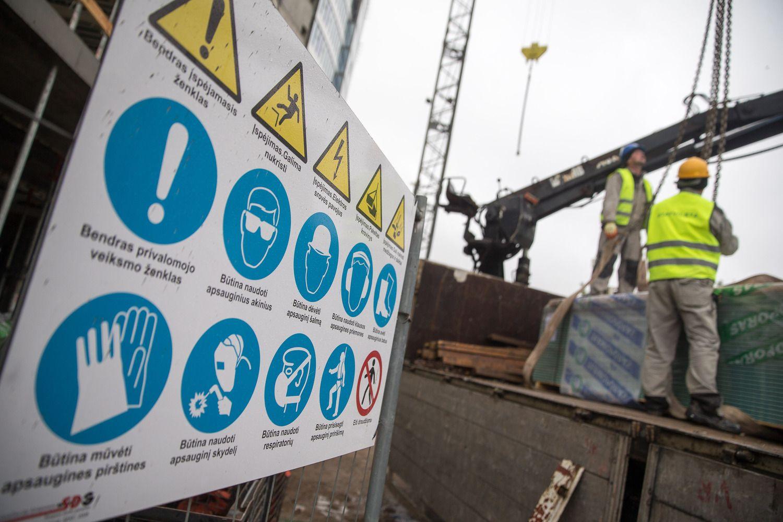 Tarp darbo saugos ir gaunamo pelno galima dėti lygybės ženklą