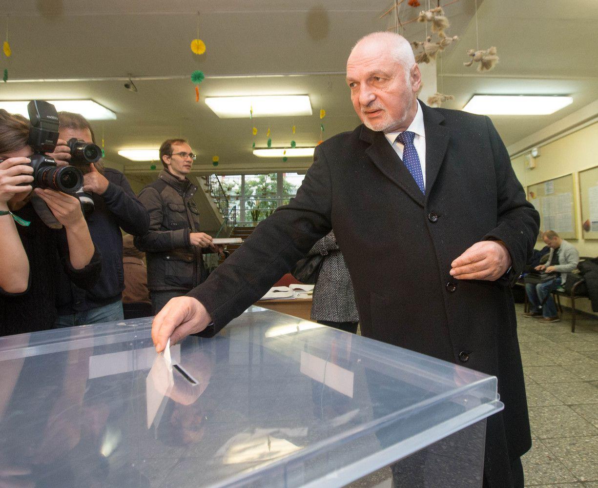 Mazuronis dalyvaus prezidento rinkimuose