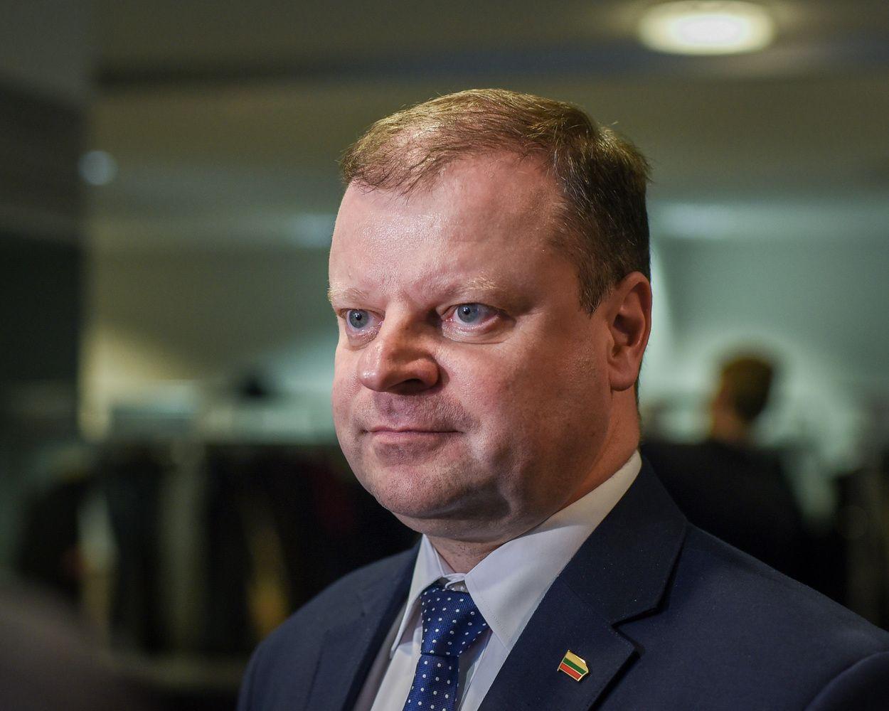 Skvernelis: valstybės tarnybą turi sudaryti mažos, bet gerai apmokamos komandos