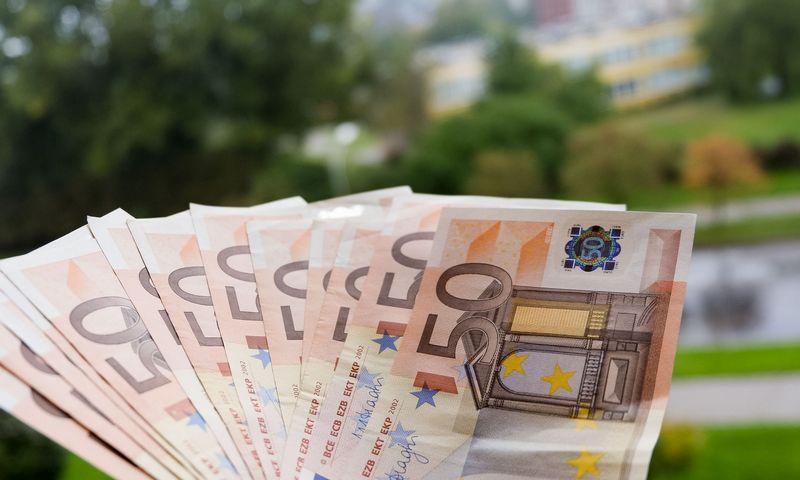 Eurai - bendra Europos Sąjungos šalių valiuta. Vladimiro Ivanovo (VŽ) nuotr.
