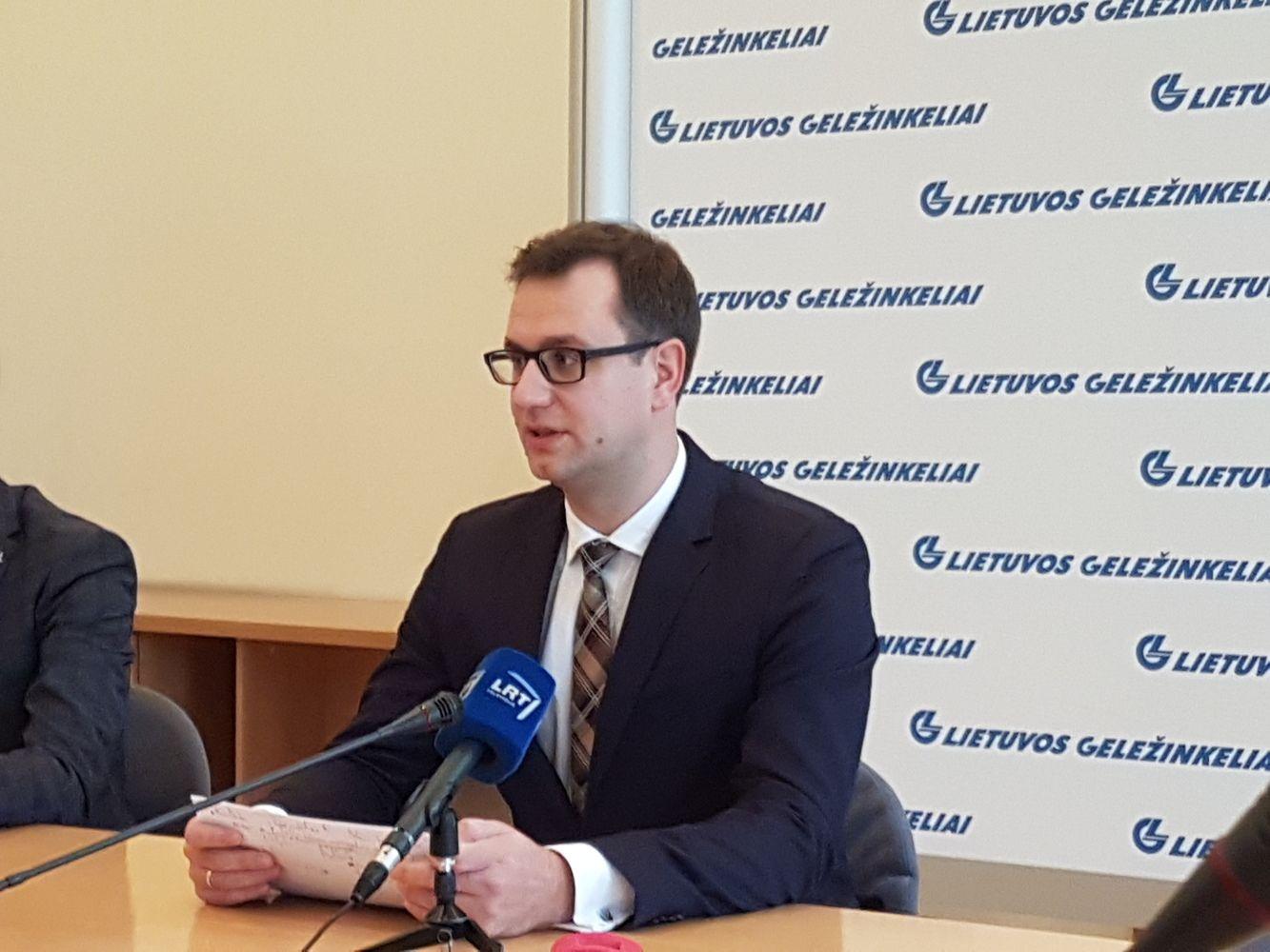 """""""Lietuvos geležinkeliai"""" uždirbo šiek tiek mažiau"""
