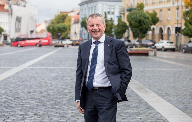 """Gintaras Vilda, Lietuvos inžinerinės pramonės asociacijos """"Linpra"""" direktorius. Juditos Grigelytės (VŽ) nuotr."""