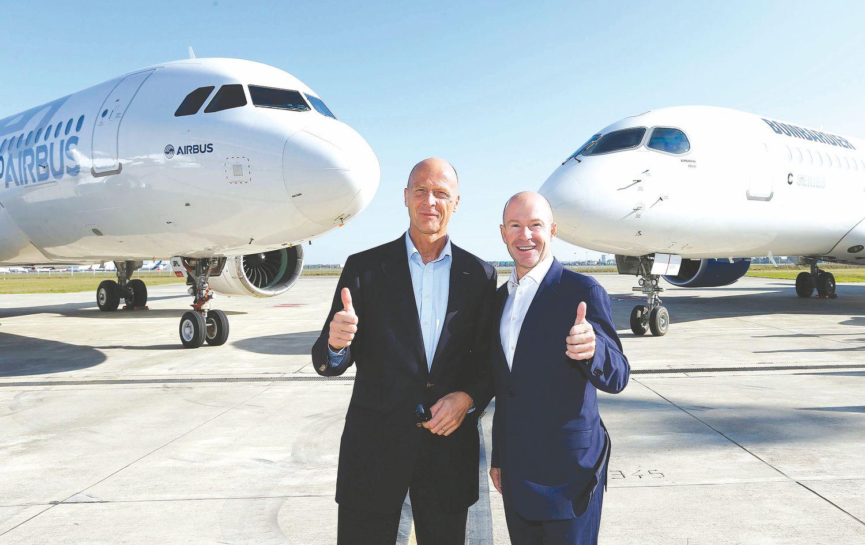 """""""Bombardier"""" savo orlaivius patikėjo """"Airbus"""""""
