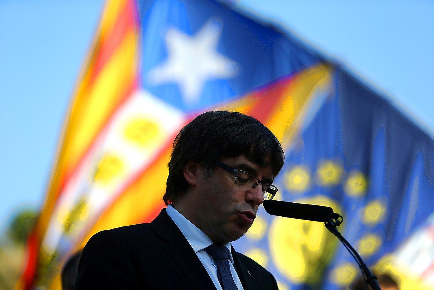 Ispanija suspenduos Katalonijos autonomiją