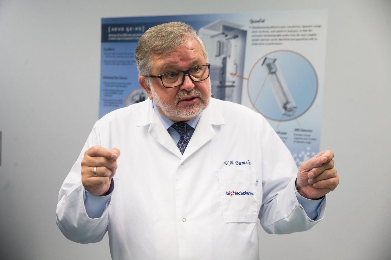 V. Bumelio įmonė kuria 3D biospausdintuvą – spausdins organus transplantacijai