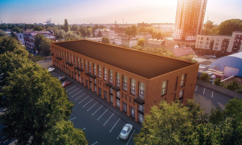 Klaipėdos centre – naujas gyvenamųjų loftų projektas
