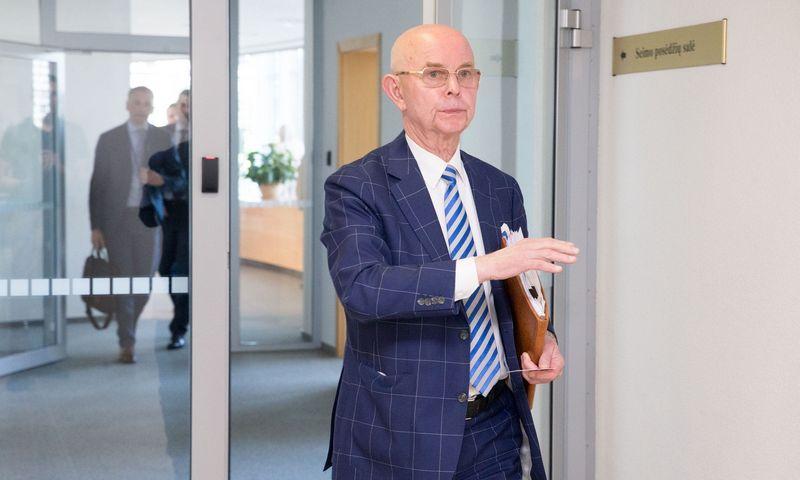 Seimo narys Antanas Vinkus. Juditos Grigelytės (VŽ) nuotr.