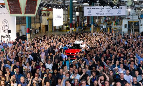 Australija atsisveikina su automobilių pramone
