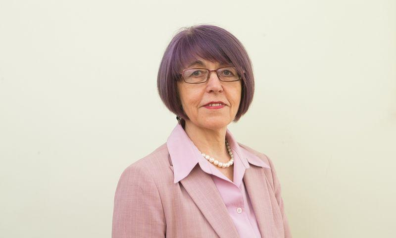 Stasė Aliukonytė – Šnirienė, VMI Mokestinių prievolių departamento direktorė. Juditos Grigelytės (VŽ) nuotr.