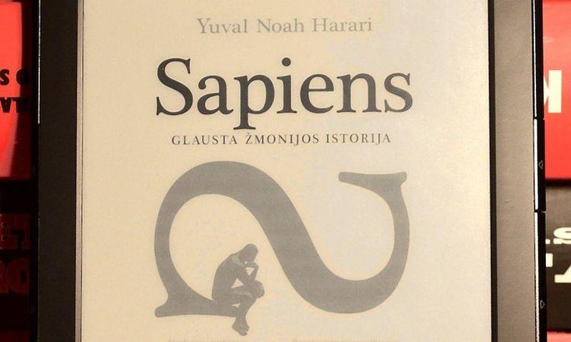 """Yuval Noah Harari """"Sapiens. Glausta žmonijos istorija"""" Kitos knygos, 2016, 416 p."""