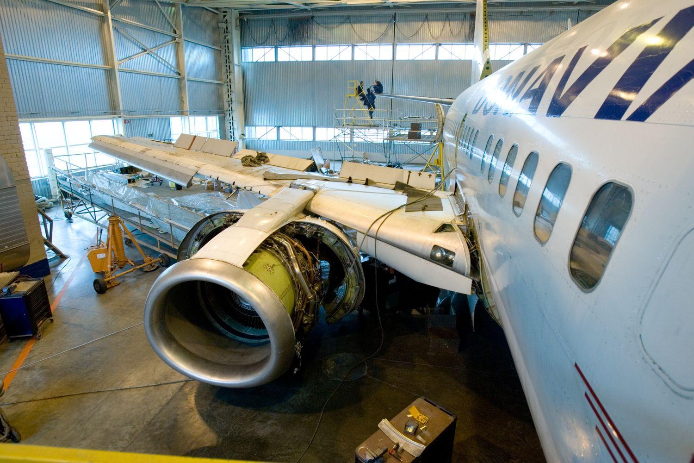 Trypčiojanti valdžia orlaivių remonto verslui neleidžia nutūpti Kaune