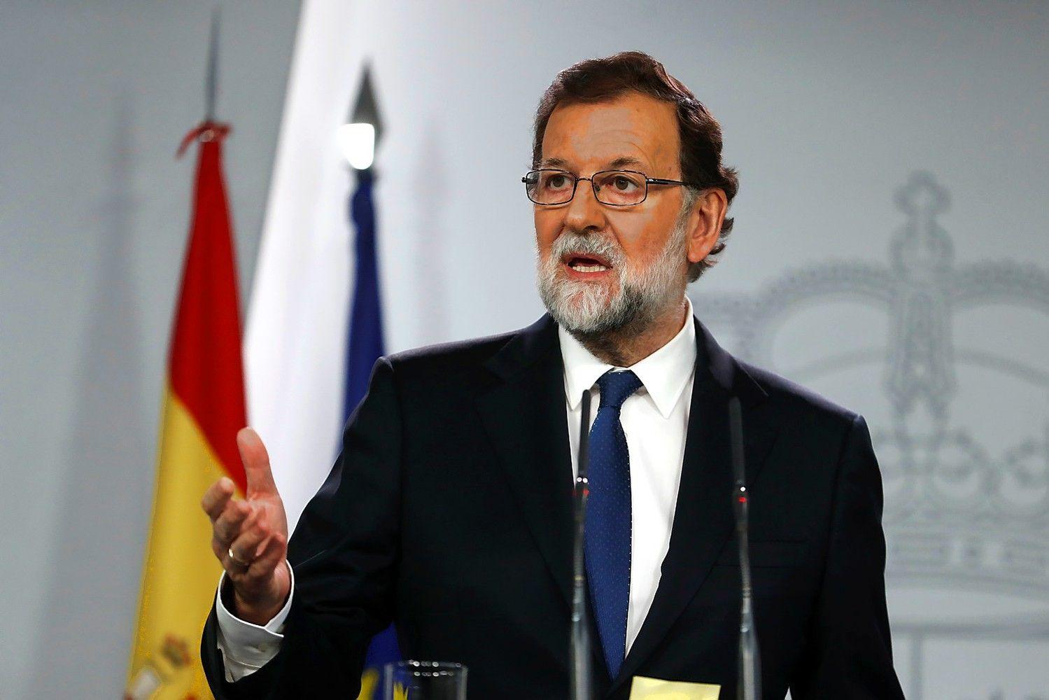 Madridas paleis Katalonijos valdžią, rengs naujus rinkimus
