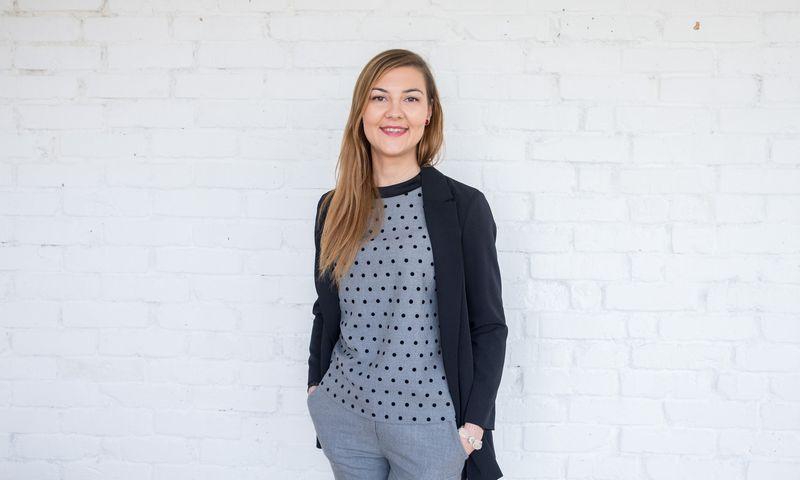 "Lina Kilimonytė, ""Alisa Management Laboratory"" konsultantė. Juditos Grigelytės (VŽ) nuotr."