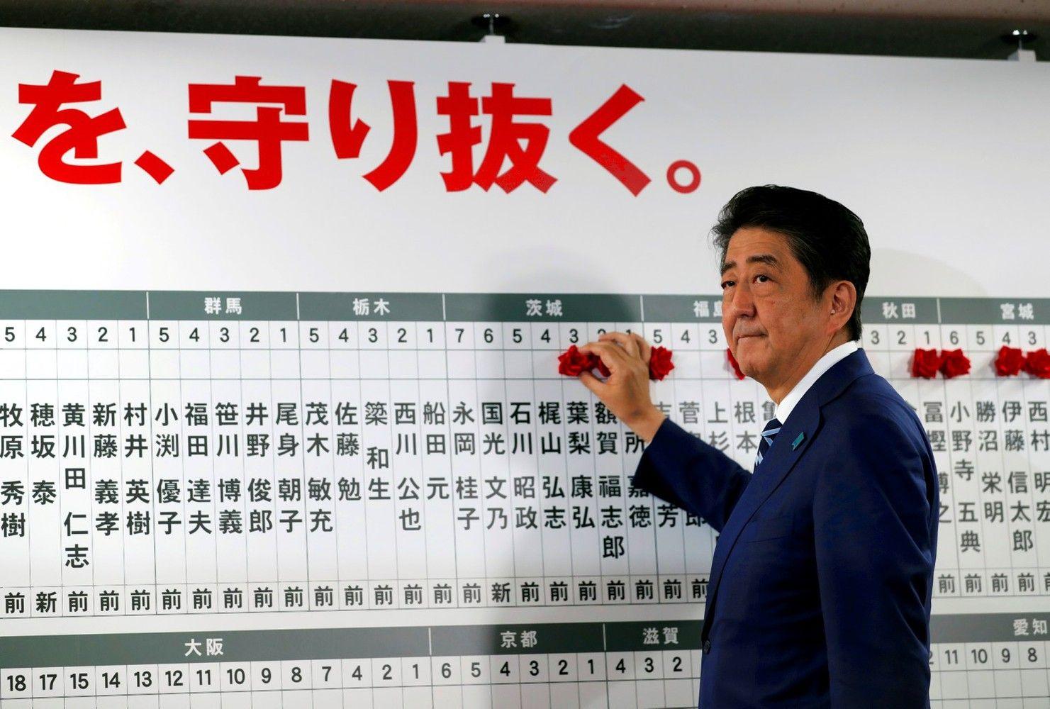 """Rinkimai Japonijoje: """"Abenomikos"""" tąsa ir konstitucinės reformos"""