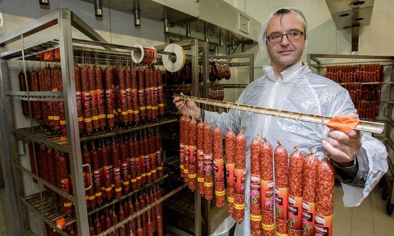 """Darius Matiukas, Mažeikių mėsos perdirbimo UAB """"Vigesta"""" direktorius: """"Kai smarkiai pabrangsta žaliava, gyvenimas visada tampa sunkus."""" Vladimiro ivanovo (VŽ) nuotr."""