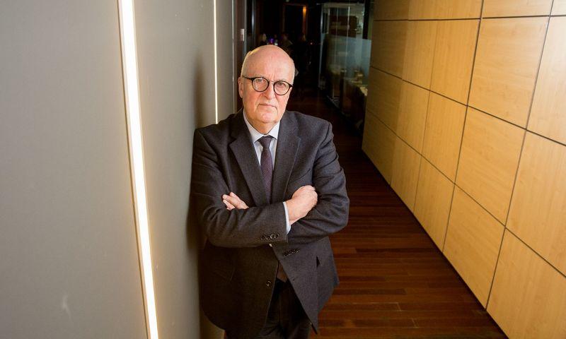 Prof. Arminas Ragauskas, Kauno technologijos universiteto Sveikatos telematikos mokslo instituto steigėjas ir vadovas, išradėjas, inovatorius. Juditos Grigelytės (VŽ) nuotr.