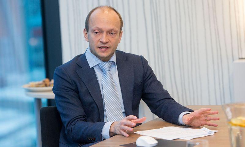 """Nerijus Mačiulis, AB """"Swedbank"""" vyriausiasis ekonomistas. Juditos Grigelytės (VŽ) nuotr."""