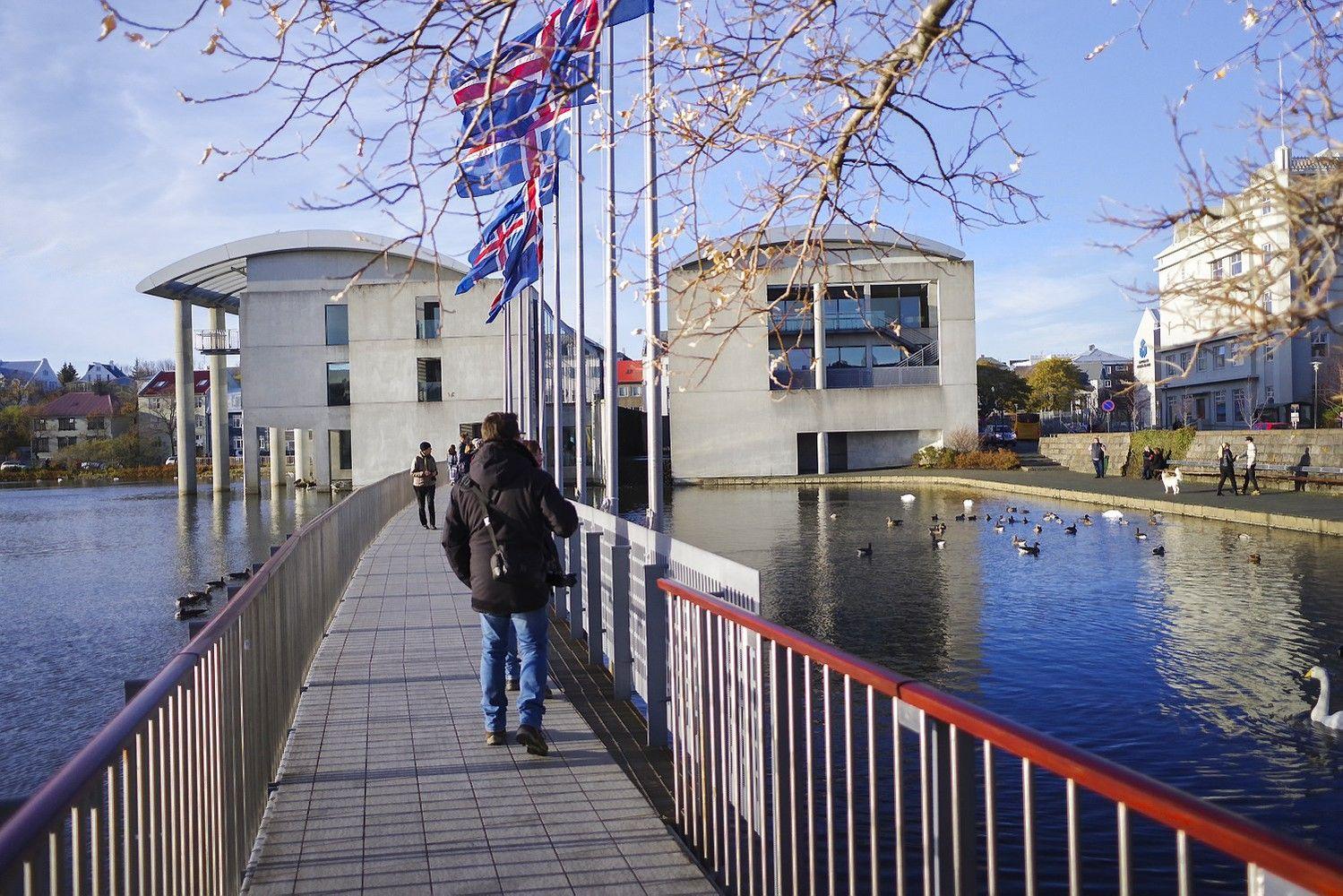 Islandijos rinkėjai balsus atiduoda kairiosioms partijoms