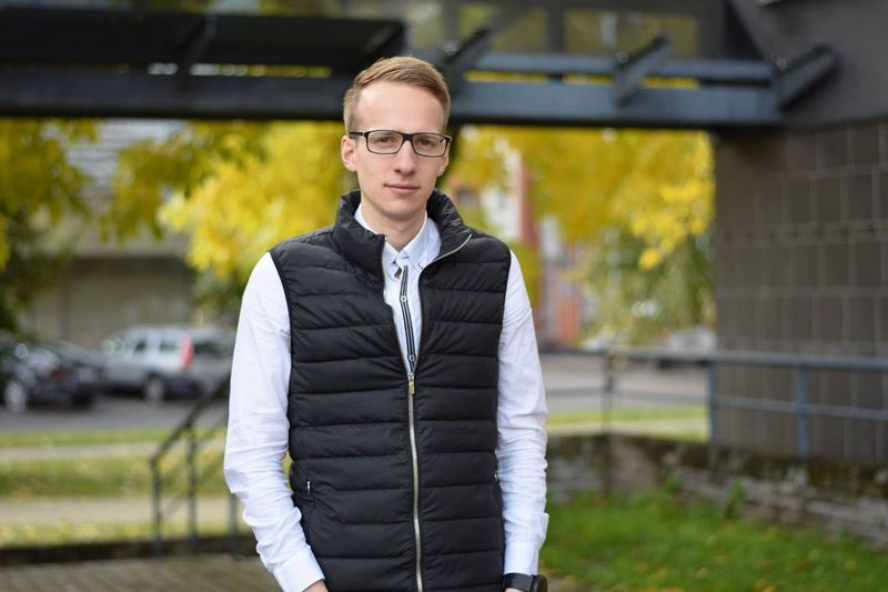"""Lukas Kairys, """"Cryptodus"""" programuotojas. Asmeninio archyvo nuotr."""