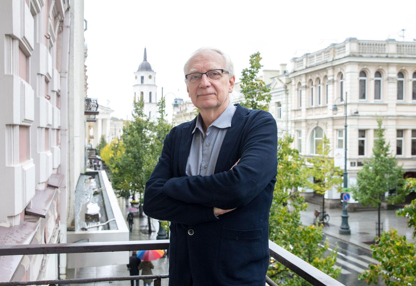 Garsus politologas Leggewie: neišspręsta praeitis išplaukia į paviršių naujais konfliktais