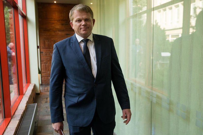 Andrius Palionis, Socialdemokratų darbo frakcijos vadovas. Lietuvos socialdemokratų partijos (LSDP) tarybos posėdis. Vladimiro Ivanovo (VŽ) nuotr.