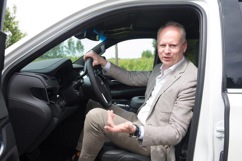 """""""Carlsberg"""" įmonių Baltijos šalyse vadovas Rolandas Viršilas sako, kad per penkerius metus visi """"Carlsberg Group"""" automobiliai bus su įrengtais alkotesteriais. Juditos Grigelytės (VŽ) nuotr."""